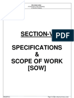 Specifications & Sow