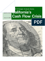 California's Cash Flow Crisis, 2009-10 budget analysis series