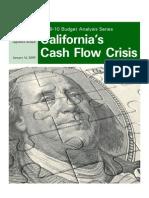 California's Cash Flow Crisis, 2009-10 budget analysis series