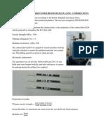 Fibre Carbon - Tensile Test (Unidirection)