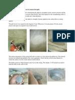 In-situ Pull Off & Crack Sealing
