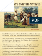 2 - South Slavs and the Balkan natives