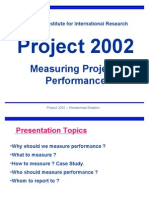 Measuring Performance Presenration