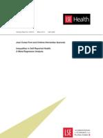 Analisis Desigualdades en Salud
