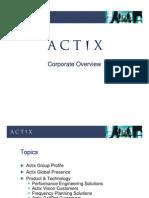 Actix Overview
