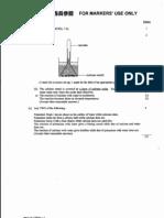 HKCEE 2004 Chemistry Paper 1 Marking Scheme