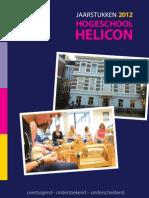 Jaarstukken 2012 Hogeschool Helicon