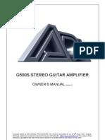 A4 G500S Manual Version 1