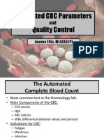 CBC Parameters and QC