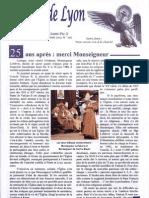 FSSPX Lyon Juillet aout 2013