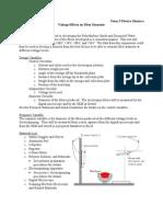 Voltage Effects on Fiber Diameter Lab.doc