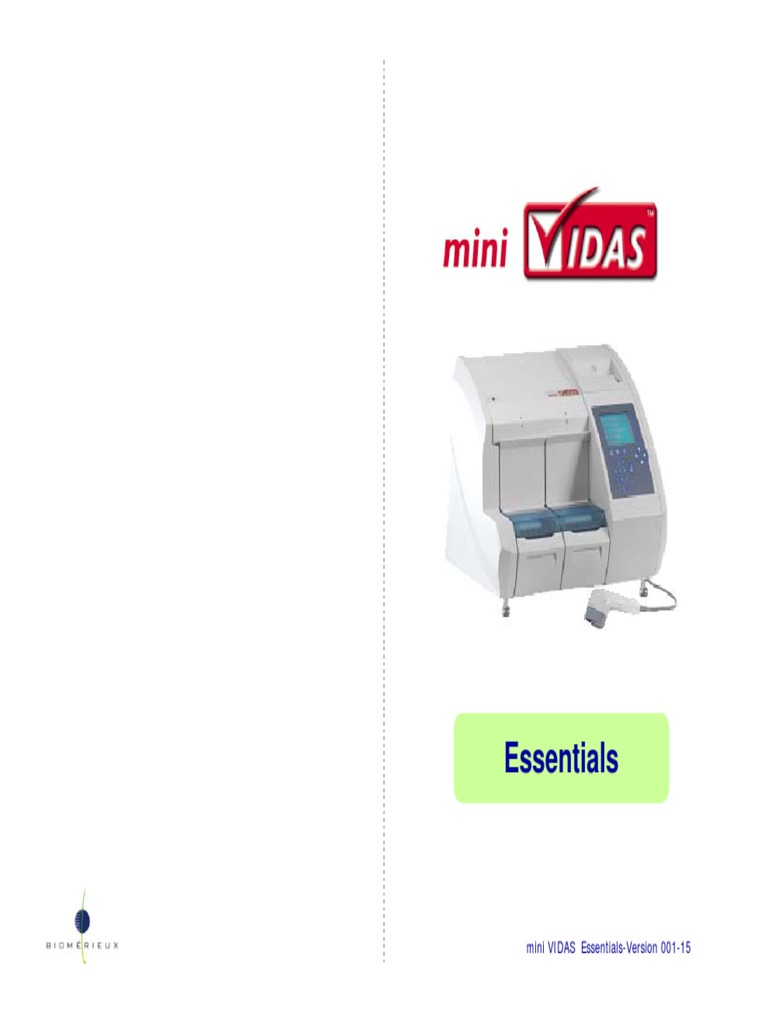 biomerieux mini vidas user manual