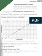 Berechnung Der Deformationsengerie Aus Versuchen
