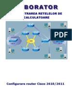 Configurare Router Cisco