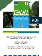 Green Way del Nera (GWN) presentazione progetto