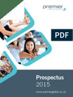 Premier Training Prospectus