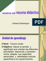 Diseño de recurso didáctico