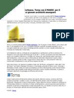 YAP 2013, Flavio Cattaneo, Terna presenta i nuovi tralicci