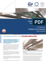 Kitchen Canopy Ventilation System
