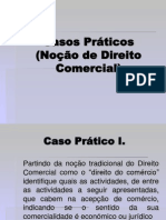 Casos Práticos.ppt - Noção de Direito Comercial