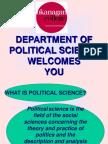 Political Science Presentation