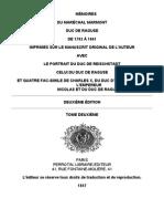 Marmont Duc de Raguise-Tome II