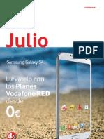 Revista Vodafone EASOVOX Julio 2013