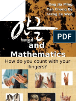 Hangul Korean Mathematics Interaksi 2