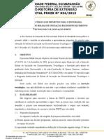 Edital Nº 342013 PIBITI
