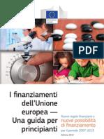 guida ai finanziamenti per l'unione europea