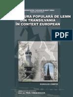 Arhitectura Populara de Lemn Din Transilvania in Context European