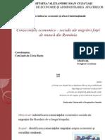 Consecintele Economico-sociale Ele Migrarii Fortei de Munca Din Romania