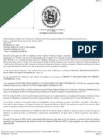 TSJ Regiones - Decisión INCES 2%