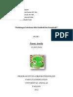 Cover Laporan Pemuliaan Tanaman Tentang Perhitungan Sederhana Sifat Kualitatif Dan Kuantitatif