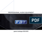 Profesional Audio Equipment