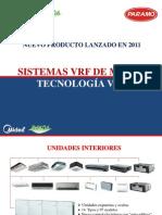 Sistema VRF de Midea Tecnologia V4+