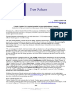 Press Release on Bethlehem University Interns 06.28.13