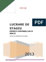 Lucrare Stagiu III
