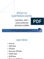Chapter 2 Part 1 Logic Gates and Boolean Algebra