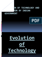 Promotion of Technology and Innovation by the Indian Government