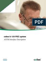 Cobas b 123 POC System - ASTM Interface Description - V2 1