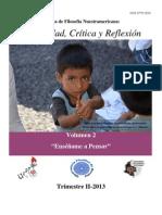 Volumen 2 Revista-de-Filosofia-Nuestramericana-ENSÉÑAME A PENSAR
