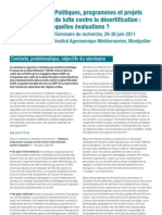 Seminaire CSFD 29 30 Juin 2011