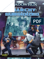 Shadowrun 4E - Anarchy Subsidized