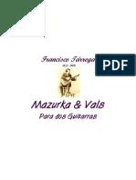 Mazurka & Vals (Francisco Tárrega) 2 git