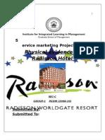 radisson hotel physical evidence
