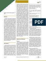 Formulation, development and evaluation of injectable formulation of Aspirin