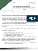 II° Medio -- Guía n°1 -- Unidad 0. Funciones de los Medios Masivos de Comunicación en la Sociedad