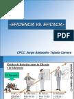Eficacia vs. Eficiencia
