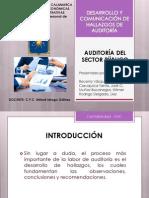 DESARROLLO Y COMUNICACIÓN DE HALLAZGOS DE AUDITORÍA